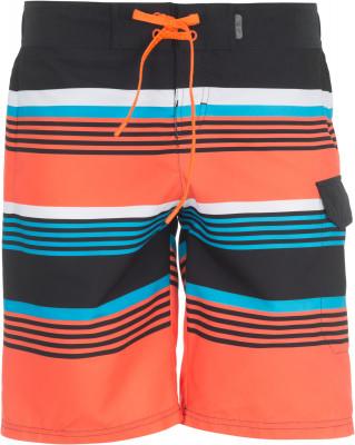 Шорты пляжные мужские TermitМужские шорты с ярким принтом от termit - оптимальный вариант для тех, кто хочет активно проводить время даже на пляже.<br>Пол: Мужской; Возраст: Взрослые; Вид спорта: Surf style; Назначение: Пляжный отдых; Длина плавок: 51 см; Технологии: Swimndry; Производитель: Termit; Артикул производителя: S17ATESE1L; Страна производства: Китай; Материал верха: 100 % полиэстер; Материал подкладки: 100 % полиэстер; Размер RU: 50;