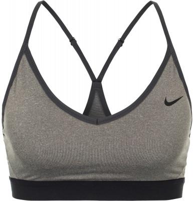 Бра Nike IndyБра nike indy - отличный выбор для тренировок с низкой интенсивностью, таких как йога, пилатес или растяжка.<br>Пол: Женский; Возраст: Взрослые; Вид спорта: Фитнес; Уровень поддержки: Легкая; Тип чашек: Съемные; Дополнительная вентиляция: Да; Технологии: Nike Dri-FIT; Производитель: Nike; Артикул производителя: 878614-091; Страна производства: Шри-Ланка; Материалы: 88 % полиэстер, 12 % эластан; Размер RU: 42-44;