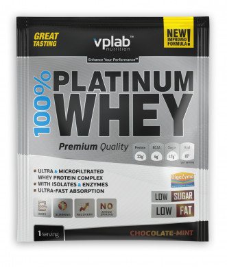 Протеин Vplab nutrition, шоколад и мята