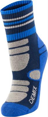 Носки для мальчиков Demix, 1 пара, размер 31-33Носки<br>Высокие носки, изготовленные из сочетания качественных материалов, обеспечивают прекрасный воздухообмен и плотную посадку по ноге.