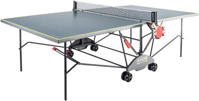 Теннисный стол всепогодный Kettler Axos Outdoor 3Всепогодный теннисный стол от kettler. Удобство пользования встроенная сетка. Держатель мячей и ракеток. Позиция playback можно играть одному на столе.<br>Размер в рабочем состоянии (дл. х шир. х выс), см: 274 х 152.5 х 76; Размер в сложенном виде (дл. х шир. х выс), см: 69 х 183 х 165; Вес, кг: 59; Складная конструкция: Да; Блокиратор в механизме складывания: Да; Регулировка высоты стола: Нет; Держатель мячей и ракеток: Нет; Труба: Круглая; Диаметр трубы: 25 мм; Материал каркаса: Сталь; Толщина игровой плиты, мм: 22; Позиция Playback: Да; Антибликовое покрытие: Да; Защитная окантовка плиты: 35 мм; Игровая поверхность: Уникальная всепогодная игровая плита ALU-TEC; Транспортировочные ролики: Да; Блокиратор колес: Да; Диаметр колес: 14 см; Материал колес: Пластик; Наличие сетки: Да; Зажимной механизм: Нет; Регулировка высоты сетки: Нет; Вид спорта: Настольный теннис; Производитель: Heinz-Kettler GmbH &amp; CO.KG; Артикул производителя: 7176-950; Срок гарантии: 5 лет; Страна производства: Германия; Размер RU: Без размера;