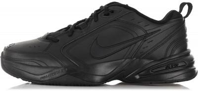 Кроссовки мужские Nike Air Monarch IVТехнологичные кроссовки от nike - оптимальное решение для тренинга. Амортизация амортизирующая вставка air-sole эффективно гасит ударные нагрузки.<br>Пол: Мужской; Возраст: Взрослые; Вид спорта: Тренинг; Тип тренировки: Силовые тренировки; Способ застегивания: Шнуровка; Материал верха: 54 % кожа, 43 % синтетическая кожа, 3 % текстиль; Материал подкладки: 100 % текстиль; Материал подошвы: 85 % резина, 15 % пластик; Производитель: Nike; Артикул производителя: 415445-001; Страна производства: Китай; Размер RU: 41,5;