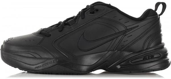 5ca4d544 Кроссовки мужские Nike Air Monarch IV черный цвет — купить за 3999 руб. в  интернет-магазине Спортмастер
