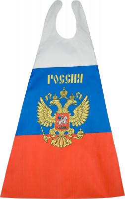 Флаг BRO RUSSIAN 90 х 135 смСпортивная атрибутика<br>Флаг-накидка с застежкой от bro russian из тонкого и прочного полиэстера. Размер 90 х 135 см.