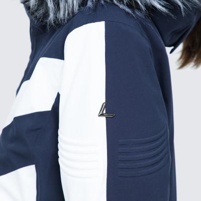 Фото 6 - Куртку женская Luhta Jalonoja, размер 42 белого цвета