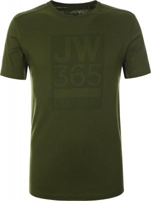 Футболка мужская JACK WOLFSKIN Wolfskin 365, размер 50-52Футболки<br>Комфортная футболка от jack wolfskin подойдет как для походов, так и для прогулок по городу. Натуральные материалы натуральный хлопок для комфорта и воздухообмена.