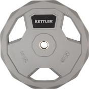 Блин стальной обрезиненный Kettler 20 кг, 2020-21