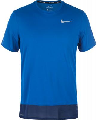 Футболка мужская NikeМужская футболка для бега от nike. Отведение влаги сетчатая ткань nike dri-fit гарантирует эффективный отвод влаги от тела и максимальный комфорт.<br>Пол: Мужской; Возраст: Взрослые; Вид спорта: Бег; Технологии: Nike Dri-FIT; Производитель: Nike; Артикул производителя: 833608-433; Страна производства: Шри-Ланка; Размер RU: 46-48;