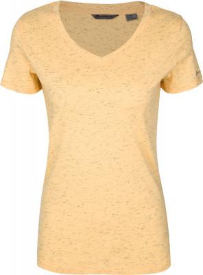 Футболка женская Outventure, размер 56Футболки<br>Женская футболка от outventure пригодится в путешествиях. Натуральные материалы в составе ткани преобладает натуральный хлопок.