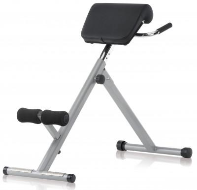 Скамья для гиперэкстензии Kettler AxosСкамья от kettler станет отличным выбором для тренировок мышц спины. Точная адаптация в модели предусмотрена регулировка высоты (9 уровней).<br>Тренируемые группы мышц: Спина; Максимальный вес пользователя: 130 кг; Регулировки: 9 уровней высоты скамьи; Складная конструкция: Есть; Размер в рабочем состоянии (дл. х шир. х выс), см: 107 x 45 x 85; Размер в сложенном виде (дл. х шир. х выс), см: 38 х 45 х 100; Вес, кг: 10; Вид спорта: Силовые тренировки; Производитель: Kettler; Артикул производителя: 7629-300; Срок гарантии: 2 года; Страна производства: Китай; Размер RU: Без размера;