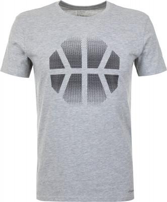 Футболка мужская Demix, размер 46Футболки<br>Практичная футболка в спортивном стиле от demix. Натуральные материалы ткань, выполненная из натурального хлопка с небольшим добавлением вискозы, приятна на ощупь.