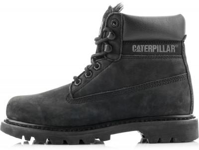 Ботинки утепленные женские Caterpillar Colorado FurУтепленные женские ботинки для активного отдыха и путешествий от caterpillar.<br>Пол: Женский; Возраст: Взрослые; Вид спорта: Путешествие; Мембранная ткань: Нет; Способ застегивания: Шнуровка; Материал верха: 71 % натуральная кожа, 29 % полиуретан; Материал подкладки: Синтетический мех; Материал стельки: Нейлон; Материал подошвы: 100 % резина; Производитель: Caterpillar; Артикул производителя: P307358; Страна производства: Бангладеш; Размер RU: 37,5;