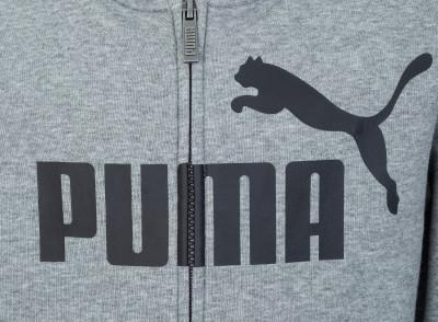 Фото 3 - Толстовку для мальчиков Puma, размер 140 серого цвета