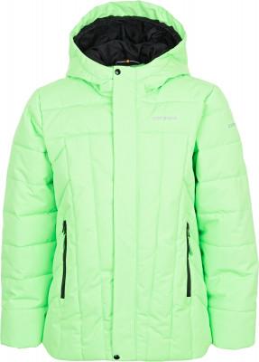 Куртка утепленная для мальчиков IcePeak RasiКуртка для мальчиков icepeak rasi пригодится в путешествиях. Сохранение тепла в куртке используется технологичный утеплитель super soft touch.<br>Пол: Мужской; Возраст: Дети; Вид спорта: Путешествие; Вес утеплителя на м2: 190 г/м2; Наличие чехла: Нет; Возможность упаковки в карман: Нет; Длина по спинке: 60 см; Водонепроницаемость: 10 000 мм; Паропроницаемость: 5000 г/м2/24 ч; Покрой: Прямой; Дополнительная вентиляция: Нет; Проклеенные швы: Нет; Капюшон: Не отстегивается; Мех: Отсутствует; Количество карманов: 2; Водонепроницаемые молнии: Нет; Технологии: Children's safety, Icetech 10 000/5 000, Reflectors, Super Soft Touch; Производитель: IcePeak; Артикул производителя: 50127553XV; Страна производства: Китай; Материал верха: 100 % полиэстер; Размер RU: 176;