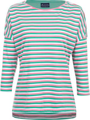 Футболка с длинным рукавом женская Columbia Harborside 3/4 SleeveЖенская футболка с рукавами 3 4 - незаменимая вещь в путешествиях. Натуральные материалы натуральный хлопок в составе ткани гарантирует комфорт и оптимальный микроклимат.<br>Пол: Женский; Возраст: Взрослые; Вид спорта: Путешествие; Защита от УФ: Нет; Покрой: Приталенный; Плоские швы: Нет; Светоотражающие элементы: Нет; Дополнительная вентиляция: Нет; Длина по спинке: 66 см; Материалы: 60 % хлопок, 40 % полиэстер; Производитель: Columbia; Артикул производителя: 1709561674S; Страна производства: Шри-Ланка; Размер RU: 44;