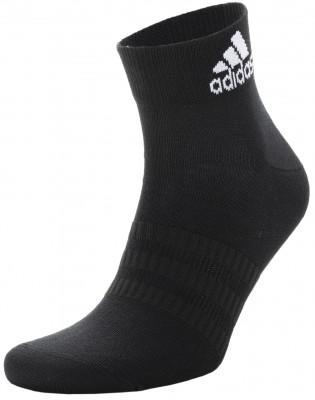 Носки adidas, 3 пары, размер 37-39