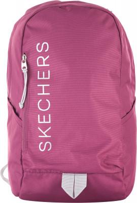 Рюкзак женский SkechersРюкзаки<br>Яркий женский рюкзак от skechers. Вместительное отделение на двусторонней молнии и передние карманы позволяют захватить с собой все необходимое.