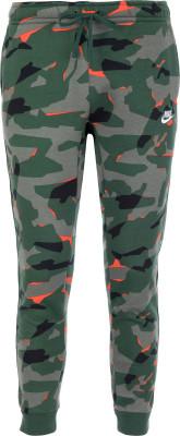 Брюки мужские Nike Sportswear, размер 52-54Брюки <br>Джоггеры с камуфляжным принтом от nike для образа в спортивном стиле. Натуральные материалы натуральный хлопок для комфорта и воздухообмена.