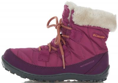 Ботинки утепленные для девочек Columbia, размер 30