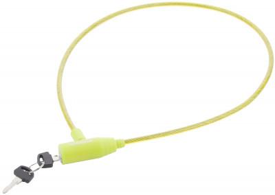Замок велосипедный с ключамиПрочный велосипедный замок с ключами cyclotech позволит предотвратить кражу велосипеда особенности модели размер 6 мм х 70 см.<br>Материал троса: Сталь; Материал замка: Пластик, виниловая оплетка; Толщина: 6 мм; Вид спорта: Велоспорт; Производитель: Cyclotech; Артикул производителя: CLK-2GRN.; Длина: 70 см; Страна производства: Китай; Размер RU: Без размера;