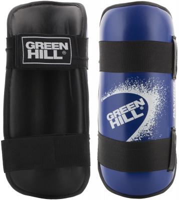 Защита голени Green Hill PantherЗащита для голени, предназначенная для разных видов единоборств, изготовлена из искусственной кожи с прочным, но легким пенным наполнителем.<br>Состав: искуст.кожа,наполитель -пенопоуретан; Вид спорта: Карате, ММА, Самбо, Тхэквондо; Производитель: Green Hill; Артикул производителя: G-2123; Размер RU: L;