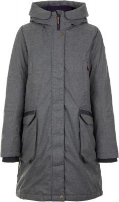 Куртка пуховая женская Outventure, размер 44Пуховики<br>Удобный и очень теплый женский пуховик от outventure - оптимальный выбор для поездок и долгих прогулок в холодную погоду.