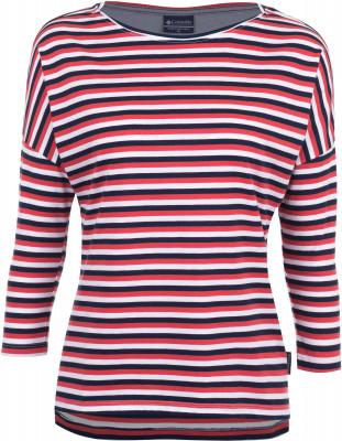 Футболка с длинным рукавом женская Columbia Harborside 3/4 SleeveЖенская футболка с рукавами 3 4 - незаменимая вещь в путешествиях. Натуральные материалы натуральный хлопок в составе ткани гарантирует комфорт и оптимальный микроклимат.<br>Пол: Женский; Возраст: Взрослые; Вид спорта: Путешествие; Защита от УФ: Нет; Покрой: Приталенный; Плоские швы: Нет; Светоотражающие элементы: Нет; Дополнительная вентиляция: Нет; Длина по спинке: 66 см; Материалы: 60 % хлопок, 40 % полиэстер; Производитель: Columbia; Артикул производителя: 1709561465S; Страна производства: Шри-Ланка; Размер RU: 44;