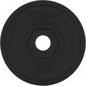 Блин стальной обрезиненный RZR 2,5 кг