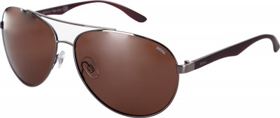 Солнцезащитные очки мужские InvuСолнцезащитные очки с металлической оправой из коллекции invu classic.<br>Возраст: Взрослые; Пол: Мужской; Цвет линз: Медный; Цвет оправы: Темно-серый, матовый коричневый; Назначение: Городской стиль; Вид спорта: Активный отдых; Ультрафиолетовый фильтр: Да; Поляризационный фильтр: Да; Зеркальное напыление: Нет; Категория фильтра: 3; Материал линз: Полимер; Оправа: Металл; Технологии: Ultra Polarized; Производитель: Invu; Артикул производителя: B1615D; Срок гарантии: 1 месяц; Страна производства: Китай; Размер RU: Без размера;