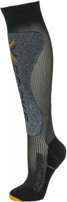 Гольфы X-Socks, 1 параГольфы от x-socks не дадут ногам устать во время катания на горных лыжах.<br>Пол: Мужской; Возраст: Взрослые; Вид спорта: Горные лыжи; Плоские швы: Да; Дополнительная вентиляция: Да; Компрессионный эффект: Да; Производитель: X-Socks; Артикул производителя: X020428-B002; Страна производства: Италия; Материалы: 49 % нейлон, 28 % полиэстер, 12 % полипропилен, 11 % эластан; Размер RU: 39-41;