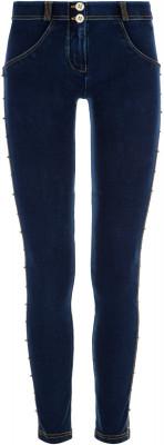 Брюки женские Freddy Evolution Wrup Snug, размер 44-46Брюки <br>Женские брюки freddy с моделирующим эффектом, выполненные в спортивном стиле, позволят создать запоминающийся образ и скорректируют фигуру.