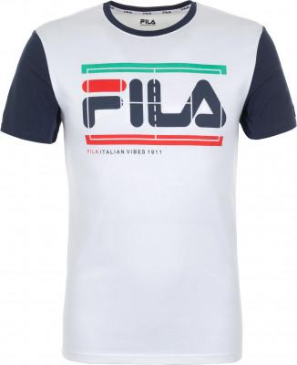 Футболка мужская Fila, размер 50Футболки<br>Футболка в спортивном стиле от fila. На груди расположена графика с изображением логотипа бренда.