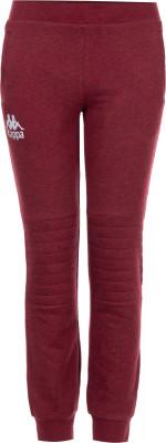 Брюки для девочек Kappa, размер 134Брюки <br>Брюки kappa из меланжевой ткани - удачное завершение образа в спортивном стиле. Натуральные материалы в составе ткани преобладает натуральный гипоаллергенный хлопок.