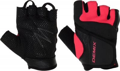 Перчатки для фитнеса Demix, размер SПерчатки атлетические<br>Для комфорта и безопасности во время интенсивных тренировок. Предотвращают появление мозолей. Позволяют надежнее фиксировать снаряд в руках.