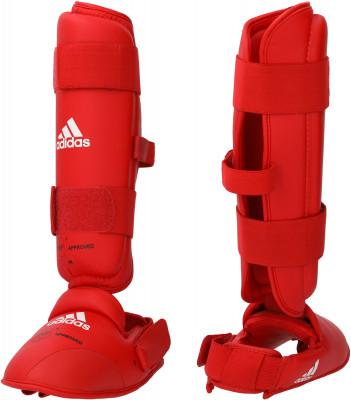Защита голени и стопы adidas, Красный, S