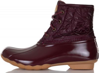женские ботинки sperry, красные
