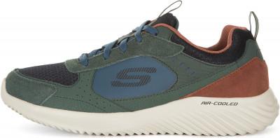 Кроссовки мужские Skechers Bounder-Courthall, размер 45Кроссовки <br>Мужские кроссовки bounder от skechers отлично впишутся в гардероб, подобранный в спортивном стиле.
