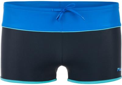 Плавки-шорты мужские FilaЯркие плавки-шорты для тренировок в бассейне. Комфортная посадка спандекс в составе ткани обеспечивает удобную посадку.<br>Пол: Мужской; Возраст: Взрослые; Вид спорта: Плавание; Длина плавок: 22 см; Материал верха: 80 % полиамид, 20 % эластан; Материал подкладки: 80 % полиэстер, 20 % спандекс; Производитель: Fila; Артикул производителя: S17AF0Z256; Страна производства: Китай; Размер RU: 56;