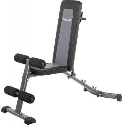 Скамья универсальная Torneo AltaУниверсальная складная скамья для тренировки мышц спины, брюшного пресса, верхнего плечевого пояса и ног.<br>Тренируемые группы мышц: Руки, плечи, грудь, пресc; Максимальная нагрузка, кг: 220; Максимальный вес пользователя: 150 кг; Регулировки: 4 уровня наклона спинки; Складная конструкция: Есть; Размер в рабочем состоянии (дл. х шир. х выс), см: 147 х 58 х 52 - 135; Размер в сложенном виде (дл. х шир. х выс), см: 140 х 54 х 24; Вес, кг: 13; Вид спорта: Силовые тренировки; Технологии: ErgoPad, EverProof, InstaFold; Производитель: Torneo; Артикул производителя: G-325; Срок гарантии: 2 года; Страна производства: Китай; Размер RU: Без размера;