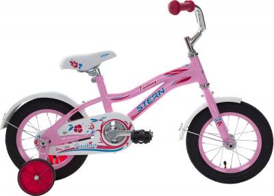 Stern Fantasy 12 (2018)Детский велосипед с прочной рамой и колесами размеров 12 дюймов подойдет девочкам младшего возраста. Веселый и яркий дизайн приведет в восторг маленьких велосипедисток.<br>Материал рамы: Сталь; Рост: 90 - 115 см; Амортизация: Rigid; Конструкция рулевой колонки: Неинтегрированная; Конструкция вилки: Жесткая; Материал педалей: Пластик; Количество скоростей: 1; Конструкция педалей: Классические; Тип заднего тормоза: Ножной; Материал втулок: Сталь; Диаметр колеса: 12; Тип обода: Одинарный; Материал обода: Сталь; Наименование покрышек: 12 x 2,125; Возможность крепления боковых колес: Да; Материал руля: Сталь; Конструкция руля: Изогнутый; Регулировка руля: Да; Регулировка седла: Да; Амортизационный подседельный штырь: Нет; Сезон: 2018; Максимальный вес пользователя: 30 кг; Вид спорта: Велоспорт; Технологии: Hi-ten steel; Производитель: Stern; Артикул производителя: 18FAN12; Срок гарантии: 2 года; Вес, кг: 8,9; Страна производства: Китай; Размер RU: Без размера;