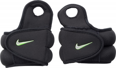 Утяжелители Nike 2 х 1,1 кгУтяжелитель от nike сделает тренировки эффективнее.<br>Вес, кг: 1,13; Состав: 91 % железо, 7 % резиновый термопластик, 2 % полиэстер; Вид спорта: Фитнес; Технологии: Dri-FIT; Производитель: Nike Accessories; Артикул производителя: N.EX.02.007.OS; Срок гарантии: 6 месяцев; Размер RU: Без размера;
