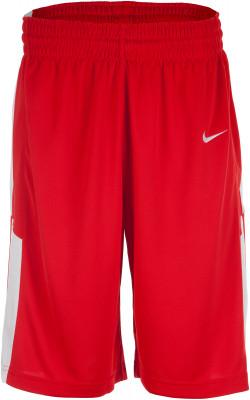 Шорты мужские Nike EliteМужские баскетбольные шорты nike elite. Отведение влаги технология dri-fit эффективно отводит влагу от тела.<br>Пол: Мужской; Возраст: Взрослые; Вид спорта: Баскетбол; Покрой: Свободный; Материал верха: 100 % полиэстер; Технологии: Dri-FIT; Производитель: Nike; Артикул производителя: 802326-658; Размер RU: 54-56; Цвет: Красный;