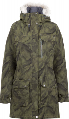 Куртка пуховая женская Columbia Titan Pass 780 TurboDown, размер 48