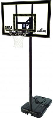 Баскетбольная стойка Spalding 2013 Highlight 42 Acrylic SystemБаскетбольная мобильная стойка с системой телескопического подъема и опускания щита, регулировка высоты кольца 2, 28-3, 05 м.<br>Состав: Акрил, металл, пластмасса; Вид спорта: Баскетбол; Производитель: Spalding; Артикул производителя: 77684CN; Страна производства: Китай; Размер RU: Без размера;