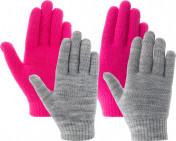 Перчатки для девочек IcePeak HIGHLAND JR, 2 пары