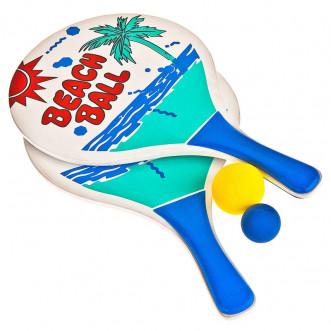 Набор для пляжного бадминтона Torneo