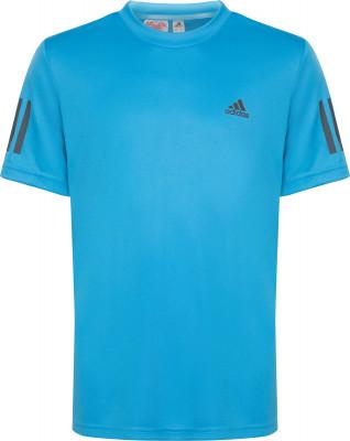 Футболка для мальчиков Adidas 3-Stripes Club, размер 140