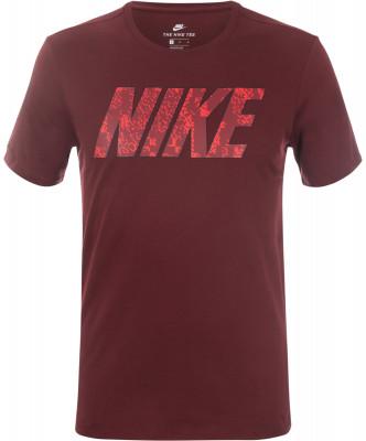 Футболка мужская Nike SportswearФутболка в спортивном стиле отлично впишется в летний гардероб.<br>Пол: Мужской; Возраст: Взрослые; Вид спорта: Спортивный стиль; Покрой: Прямой; Производитель: Nike; Артикул производителя: 874791-619; Страна производства: Китай; Материалы: 100 % хлопок; Размер RU: 44-46;
