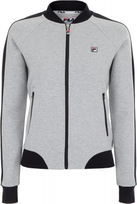Джемпер женский Fila, размер 48Джемперы<br>Для твоего эффектного образа - джемпер в спортивном стиле от fila. Натуральные материалы в составе преобладает натуральный воздухопроницаемый хлопок.