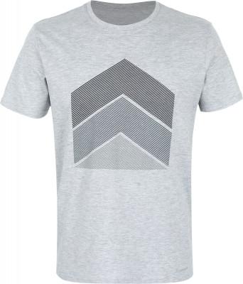 Футболка мужская Demix, размер 48Футболки<br>Комфортная футболка demix отлично впишется в гардероб, подобранный в спортивном стиле. Натуральные материалы натуральный воздухопроницаемый хлопок гарантирует комфорт.